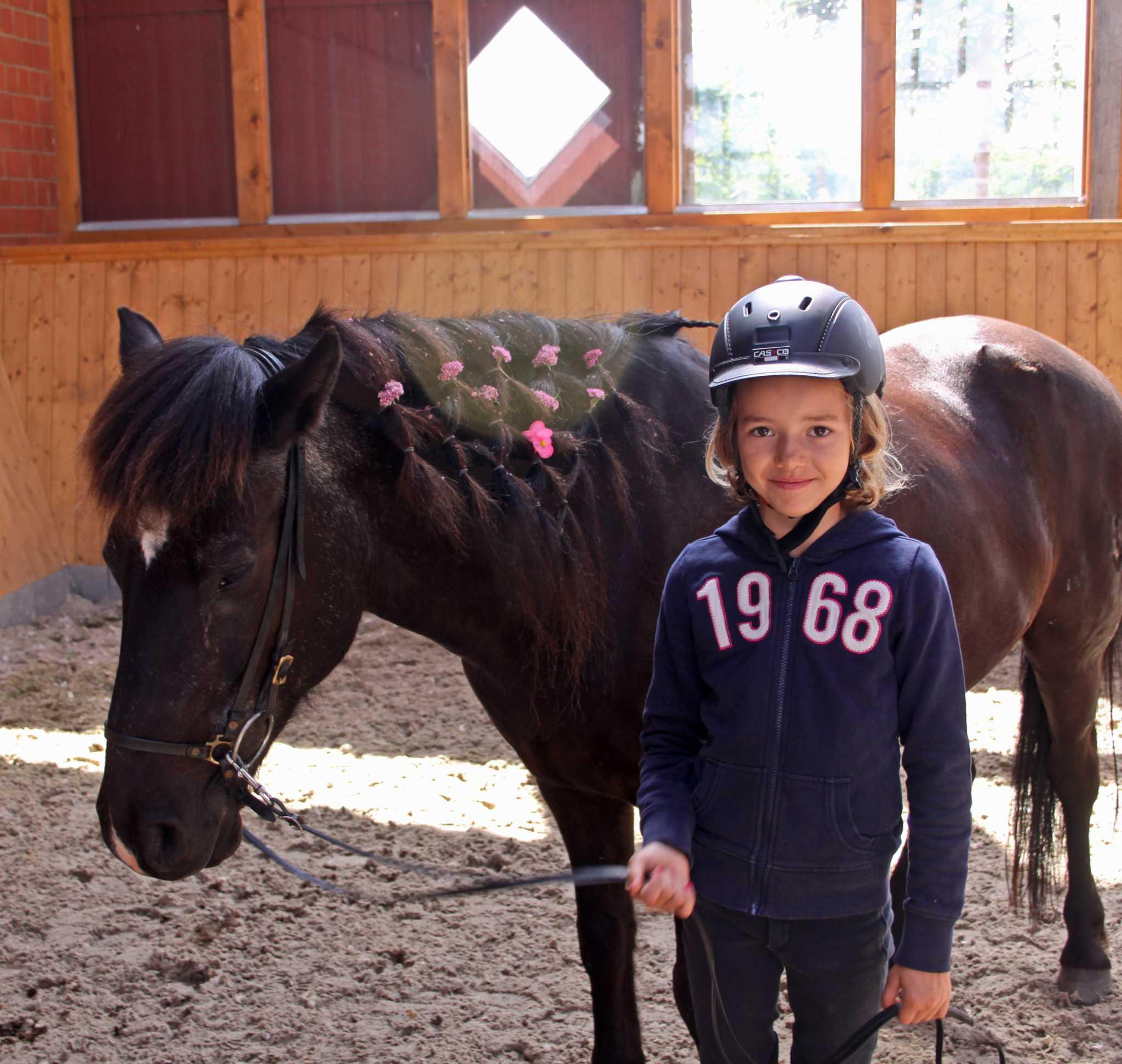 Reiterspiele bei der Reitfreizeit