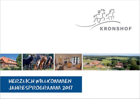Kronshof Jahresprogramm 2017