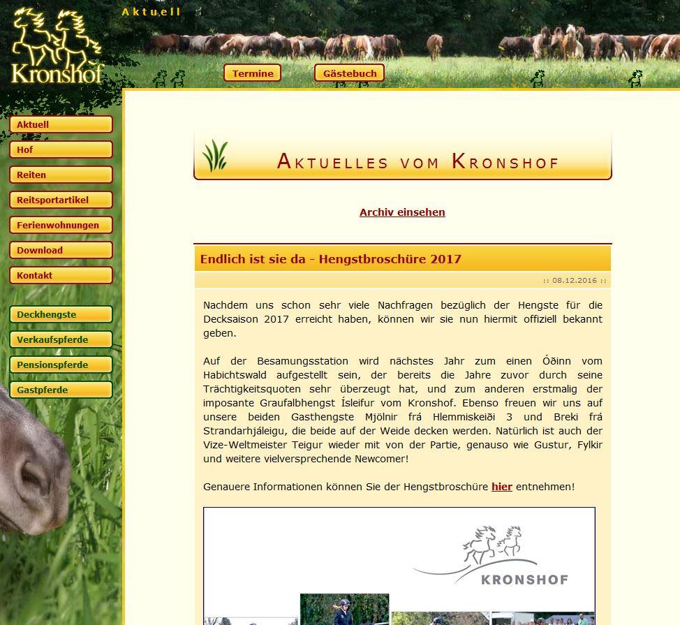 Hurra, sie ist da: unsere neue Webseite