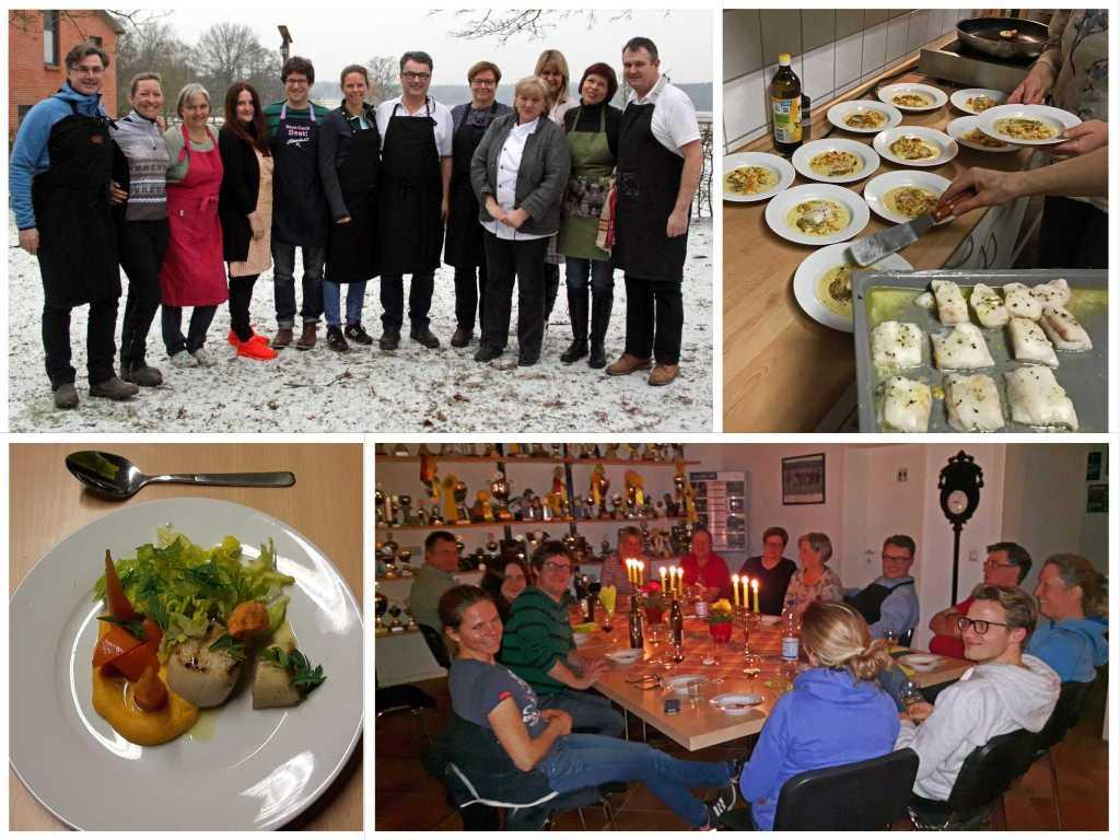 Ausschreibung: Sterne-Kochkurs mit Sonja & Peter Frühsammer in Januar 2018