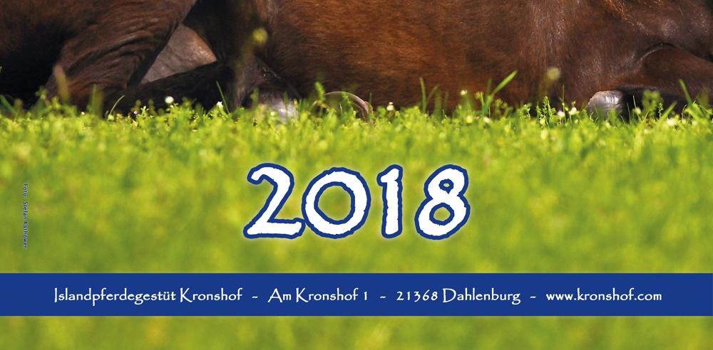 Kronshof-Kalender 2018