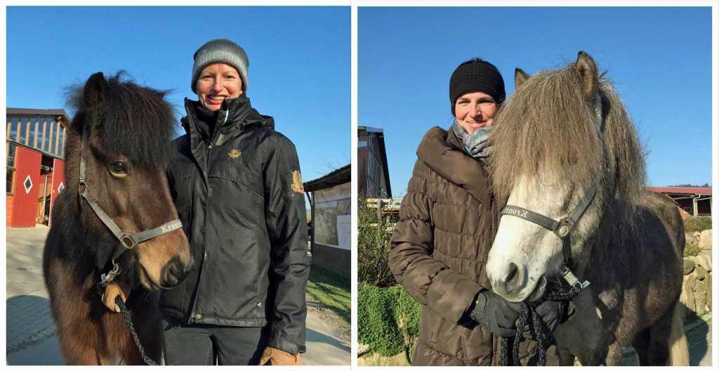 Glückliche Pferdekäufer