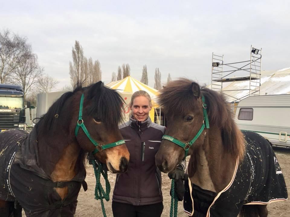Frauke, Gletting und Óðinn erfolgreich auf der Ice Horse in Eindhoven