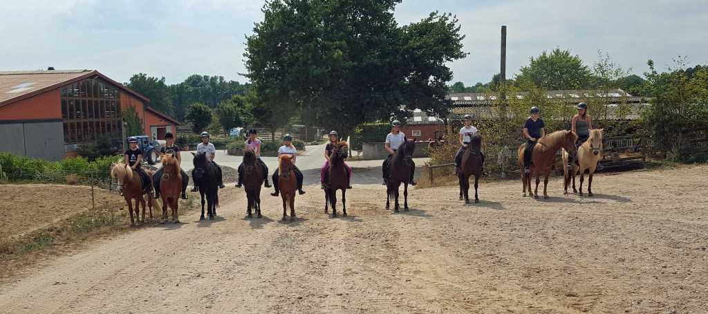 Reiterferien auf dem Kronshof