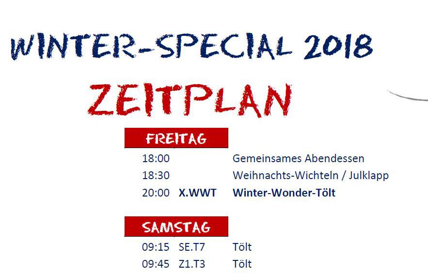 Zeitplan & Starterlisten Winter-Special – Islandpferdegestüt Kronshof