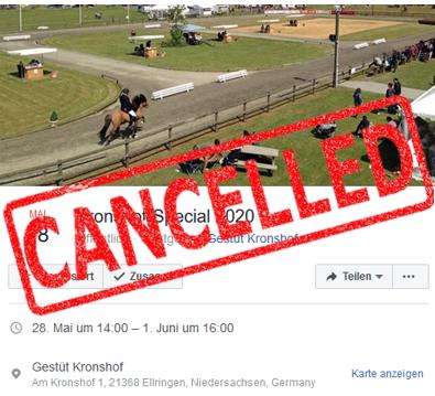 Corona Update: Kronshof-Special 2020!