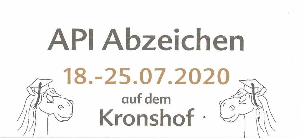 Noch Plätze frei: IPZV Reitabzeichenkurs mit Kerstin Baden vom 18.07. – 25.07.2020!