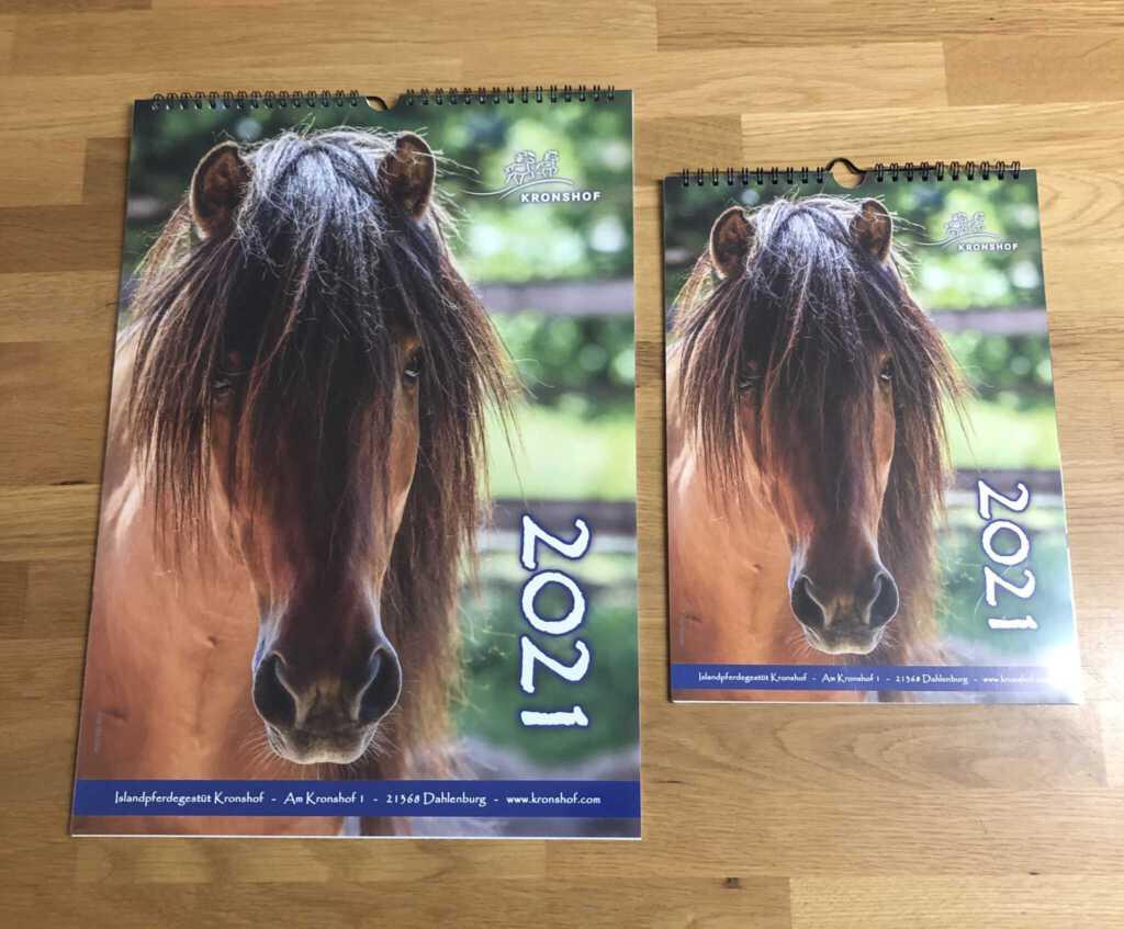 JETZT ERHÄLTLICH: Kronshof Jahreskalender 2021